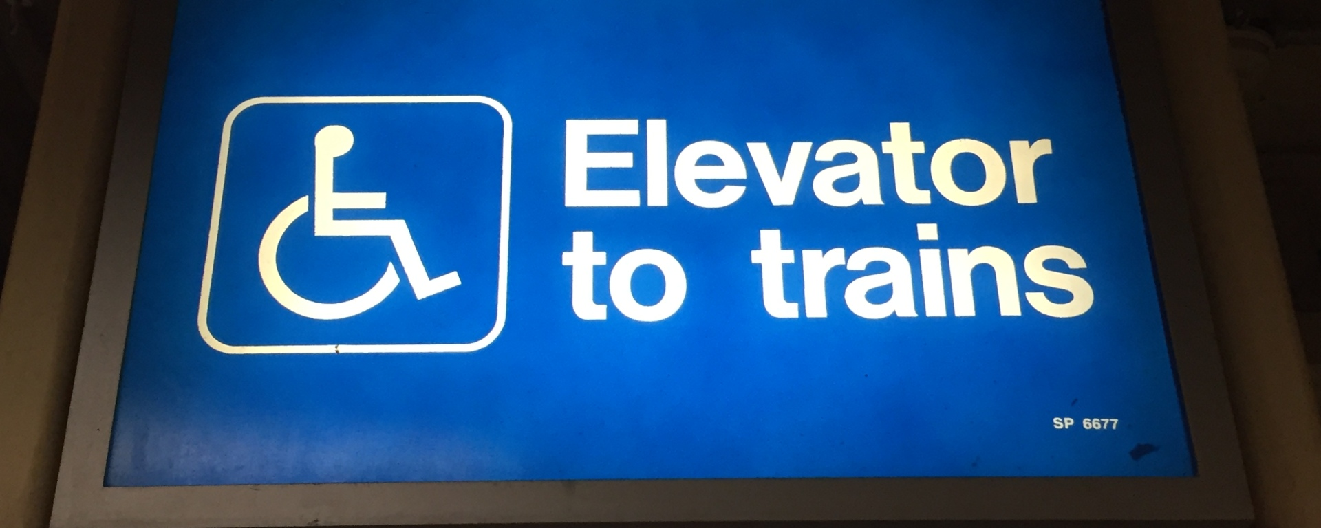 Accessible Subway Station Elevator