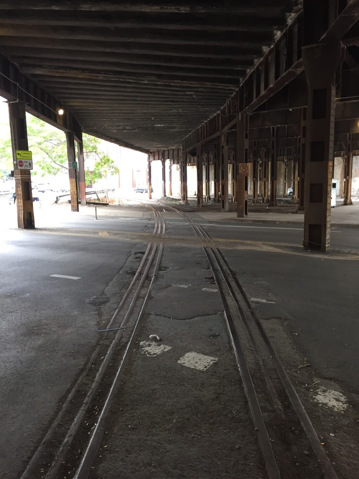 Rail Crossing Kinzie Street