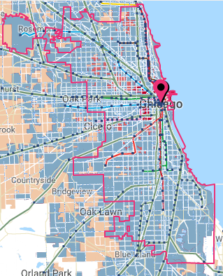 Chicago Transit Score