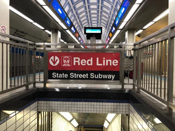 Red Line Blue Line